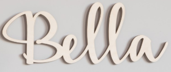 Image of Custom - Decorative Script Name Carves