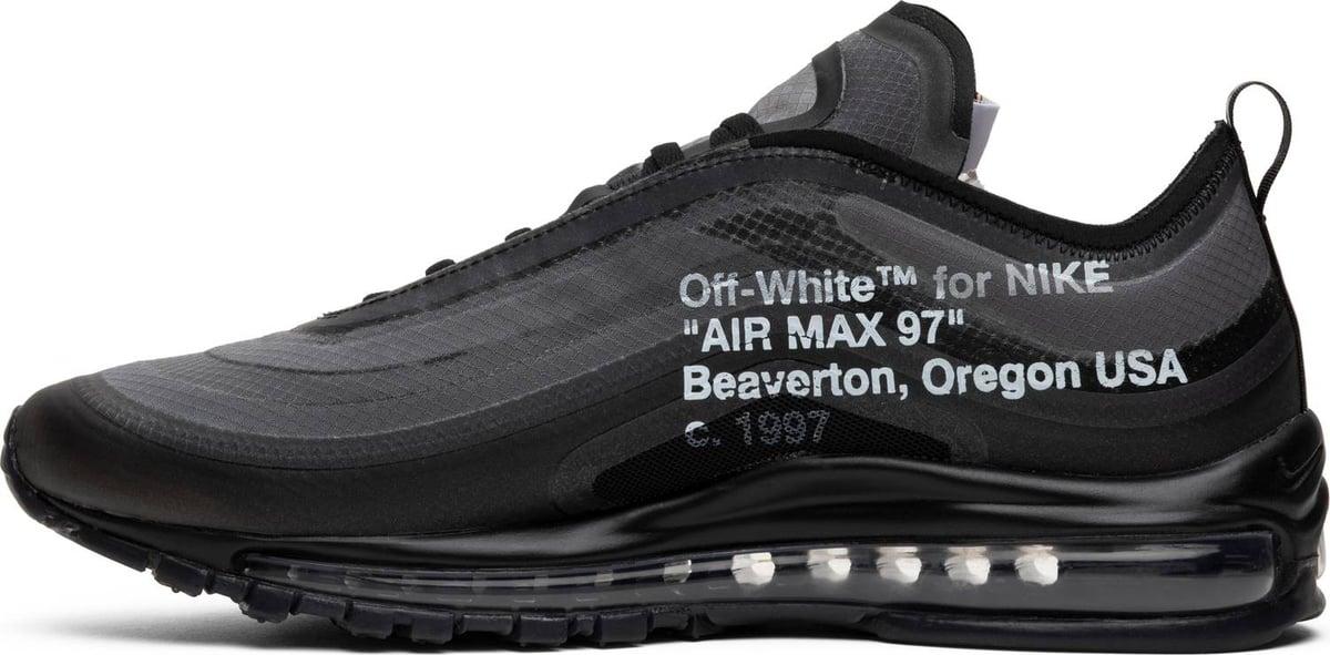 OFF-WHITE x Air Max 97 'Black'