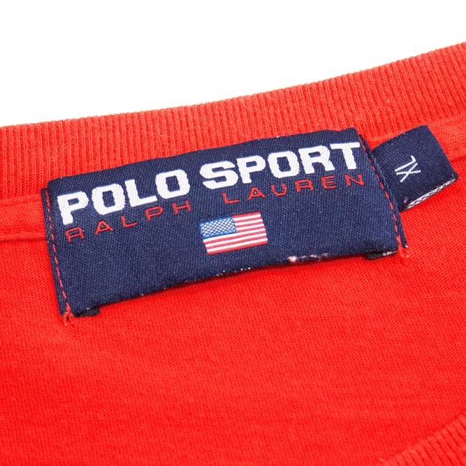 Image of Polo Sport Ralph Lauren Vintage T-Shirt Size XL
