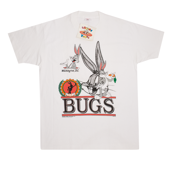 Image of Vintage Bugs Bunny T-shirt NWT Size XL