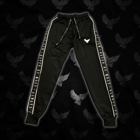 Image of Black/White Worn By Few Joggers