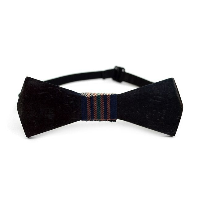 Image of Wooden Bow Ties