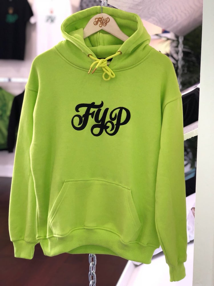 Image of Mens Neon Hoody