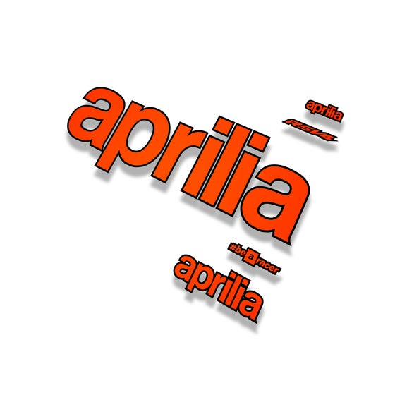 Image of Aprilia FlatNeon logo pack