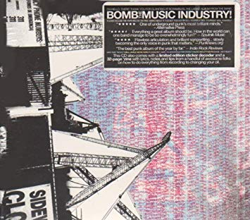 Image of BOMB THE MUSIC INDUSTRY - SCRAMBLES CD