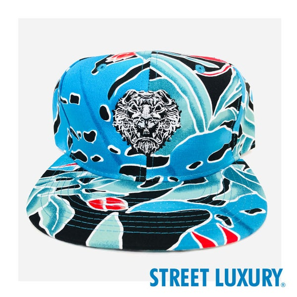 Image of Krugare Street Luxury® Blue Tropic Cap