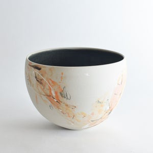 Image of deep stoneware bowl