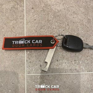 Image of Key Ring - Track Car Door Cards