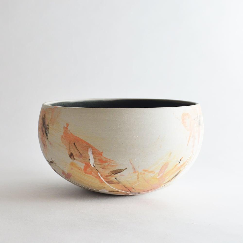 Image of stoneware serving bowl