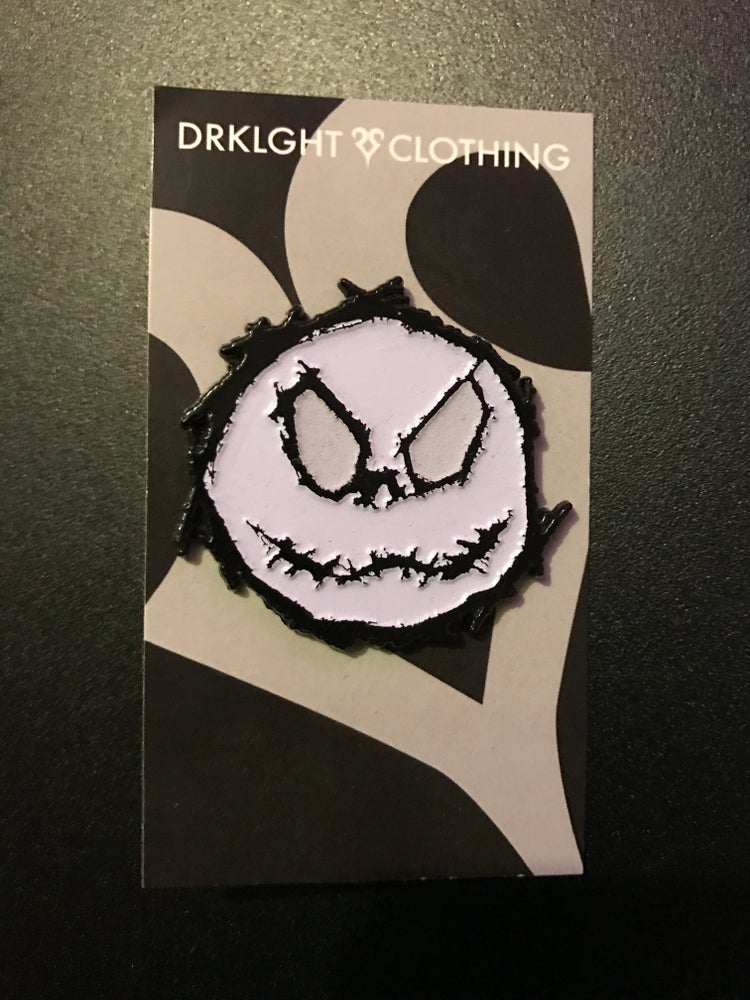 Image of Jack Skellington Enamel Pin