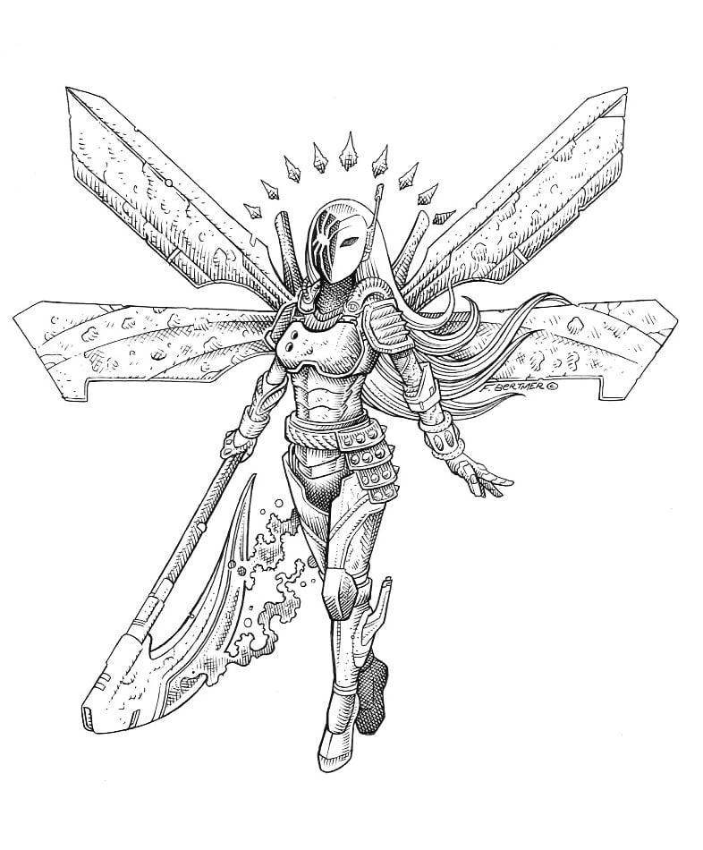 Image of Coheed & Cambria - Original Art