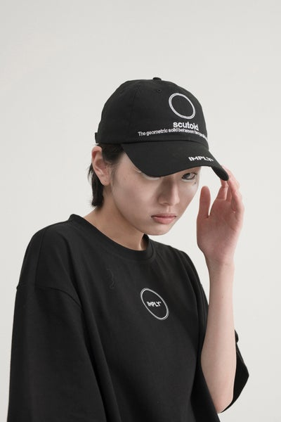 Image of IMPLY - Circle Logo T-Shirt (Black)