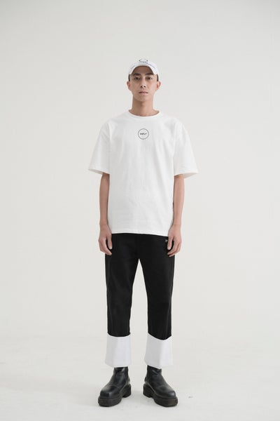 Image of IMPLY - Circle Logo T-Shirt (White)