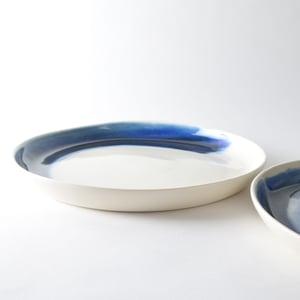 Image of Indigo serving plate
