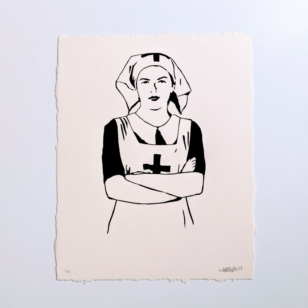 Image of Crying Won't Help You - Screenprint