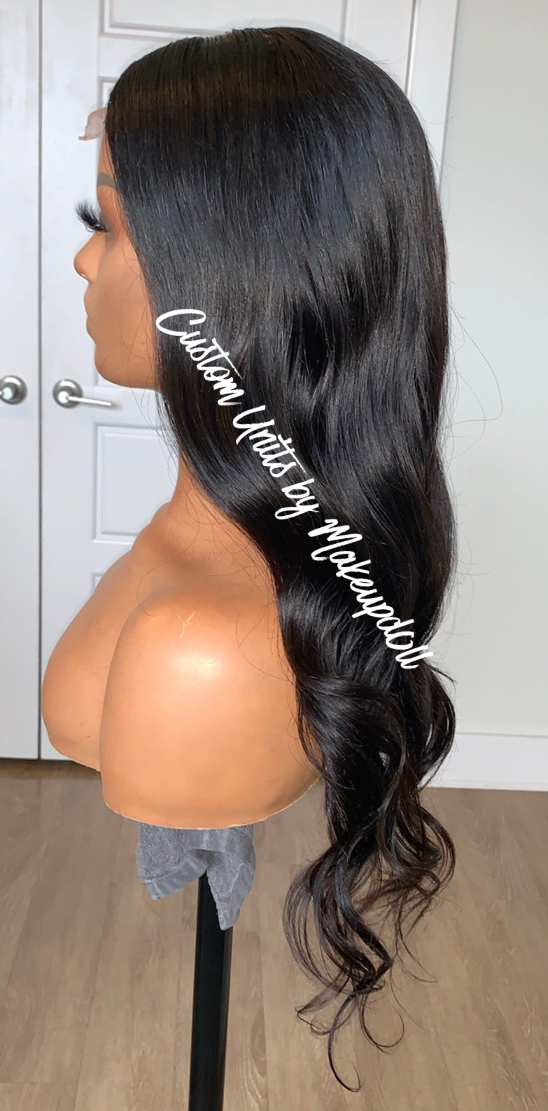 "Image of Brazilian Body Wave 20"" Lace Closure Wig!"