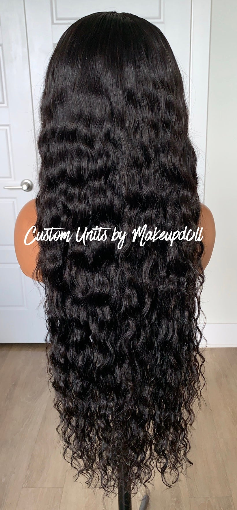 "Image of Cambodian Natural Wave 28"" 5x5 Lace Closure Wig!"