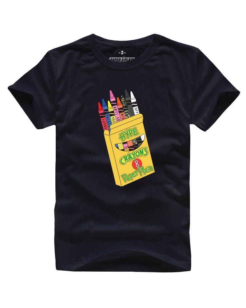 Image of HYPE CRAYONS BLACK