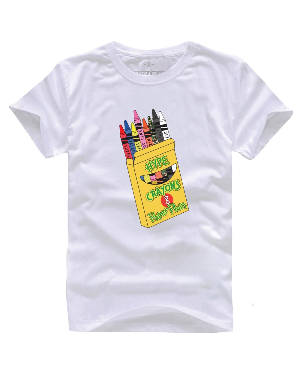 HYPE CRAYONS TEE WHITE