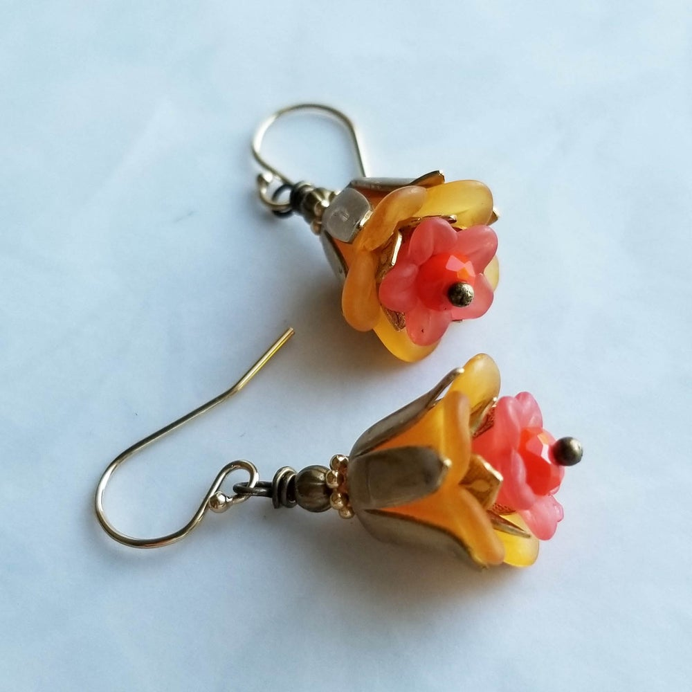 Image of Warm Sunset Earrings