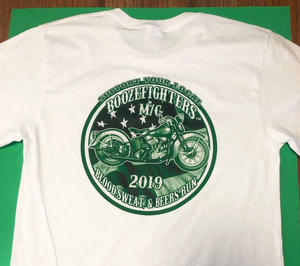 Image of 2019 Blood,Sweat & Beers Support Shirt!
