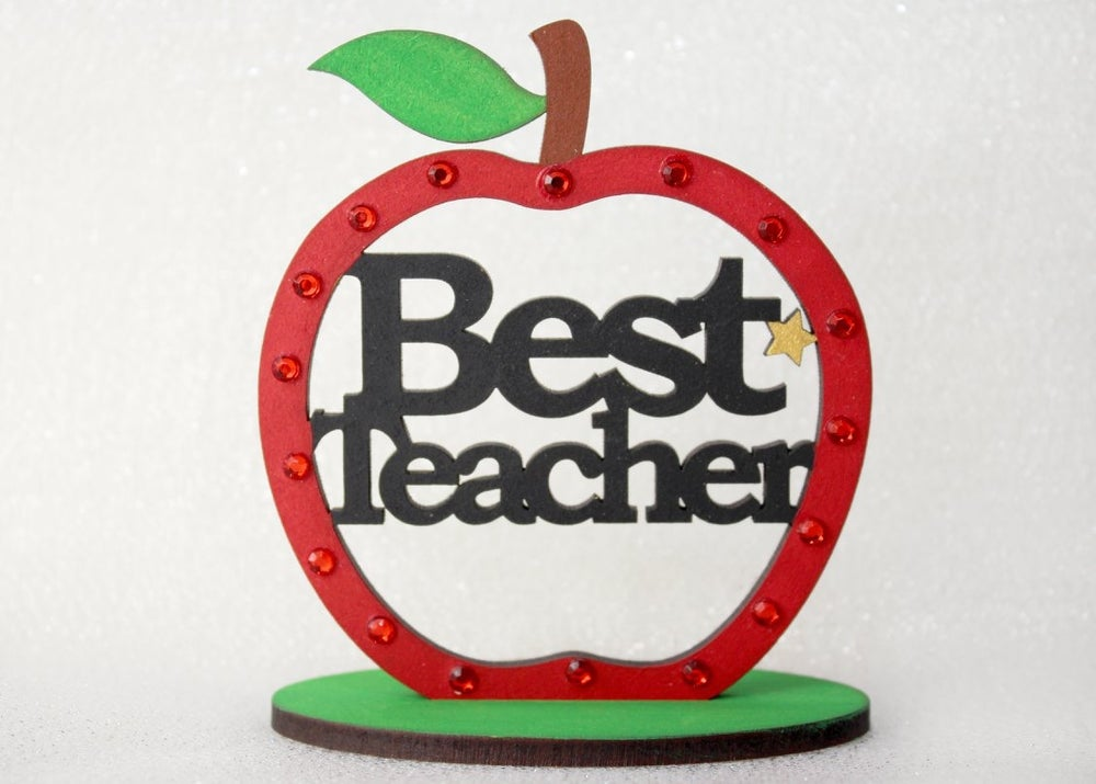 Image of Best Teacher apple