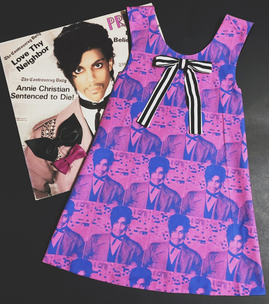 Image of Purple Prince Reversible Pinafore