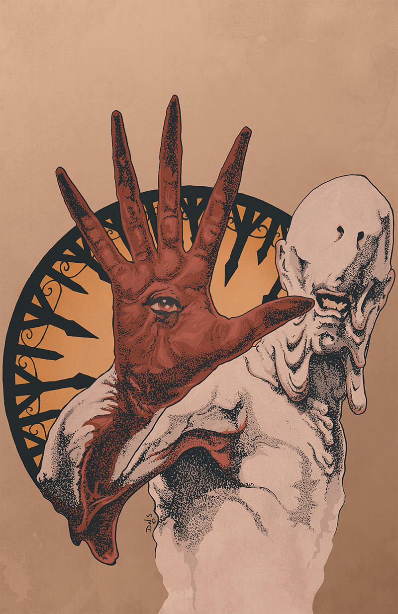 Image of The Pale Man by D.N.S