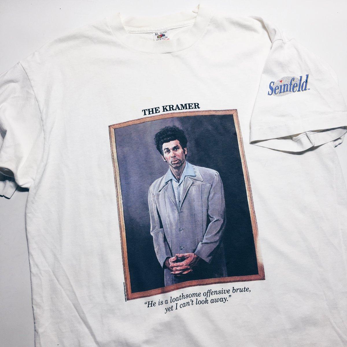 "Image of Original 1993 Seinfeld Kramer ""Potrait"" Tee."