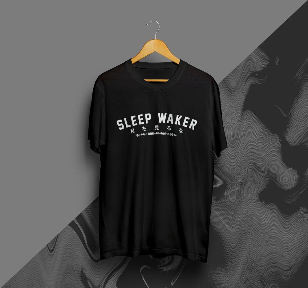 Image of Sleep Waker DLATM Collegiate Tee