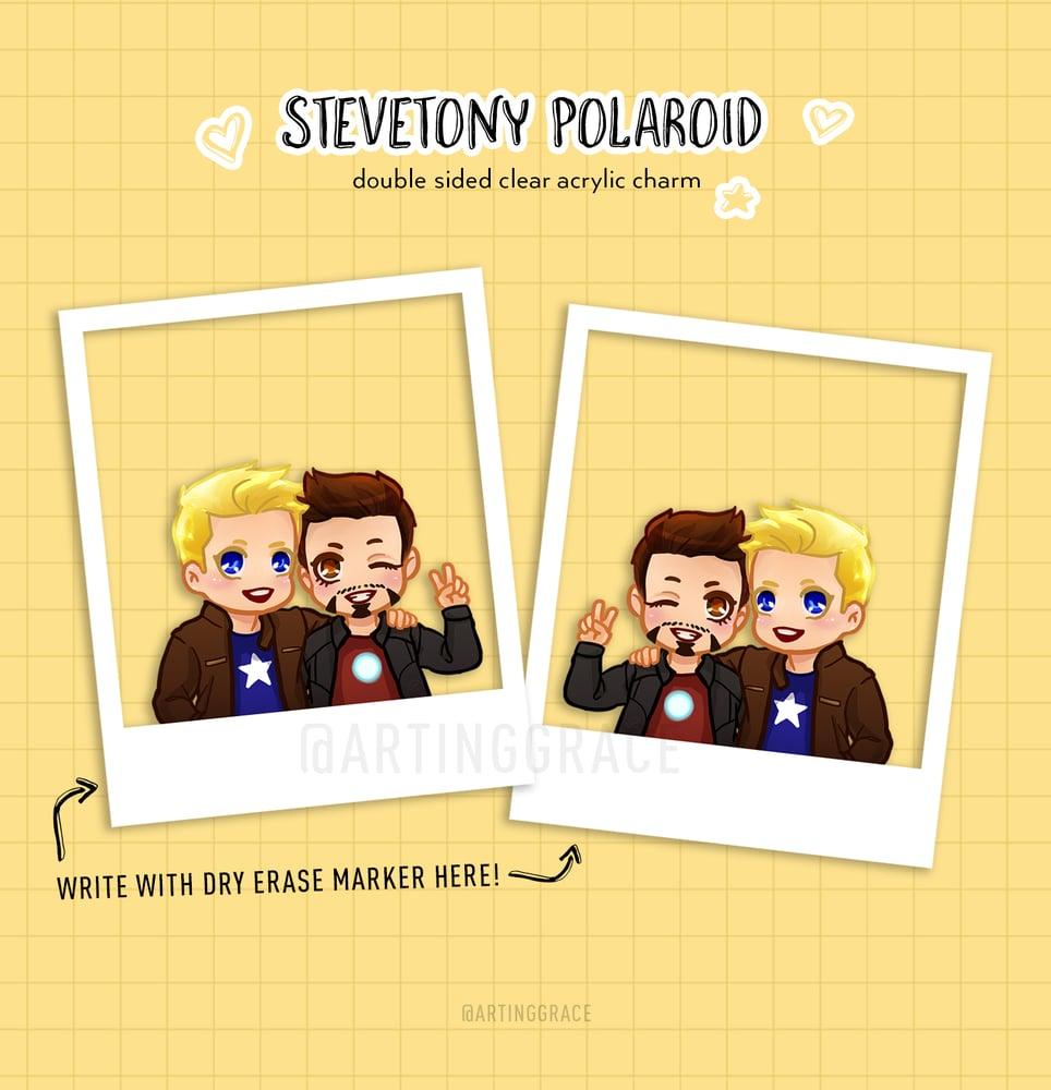 Image of [Charm] Stevetony Polaroid