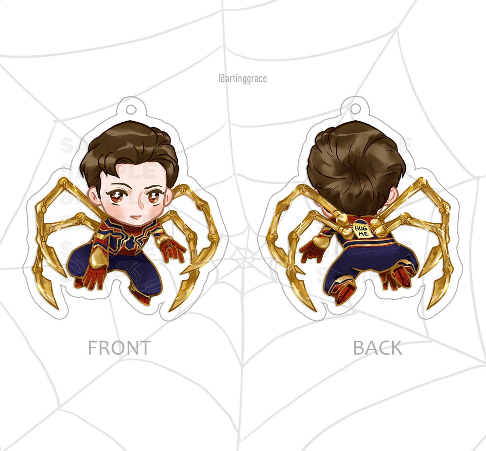 Image of [Charm] Iron Spider Peter Parker