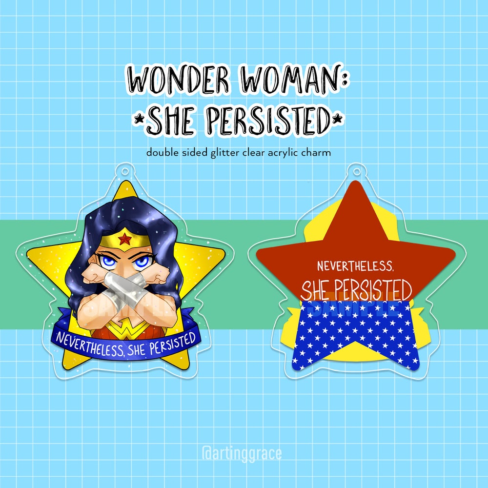 Image of [Charm] Wonder Woman: She Persisted