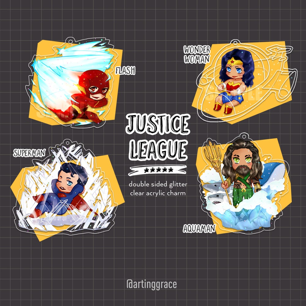 Image of [Charm] Justice League *LAST CALL*
