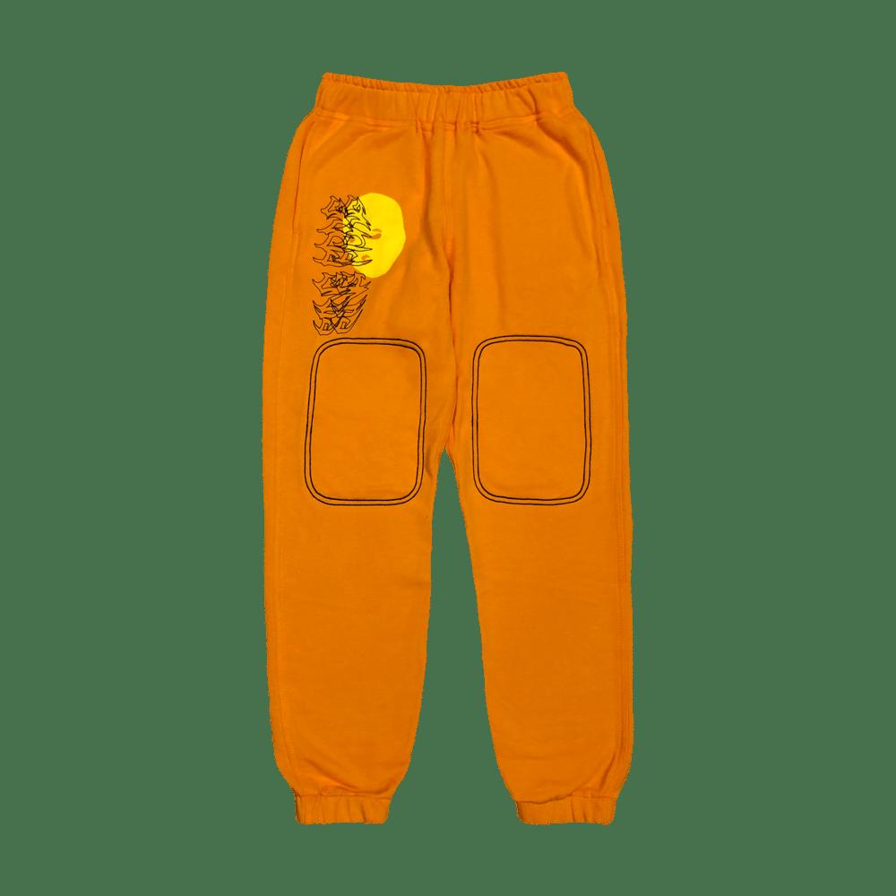 Image of MASKii Sweat Pants (orange)