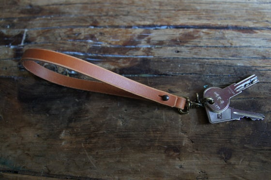 Image of Leather Loop Keychain