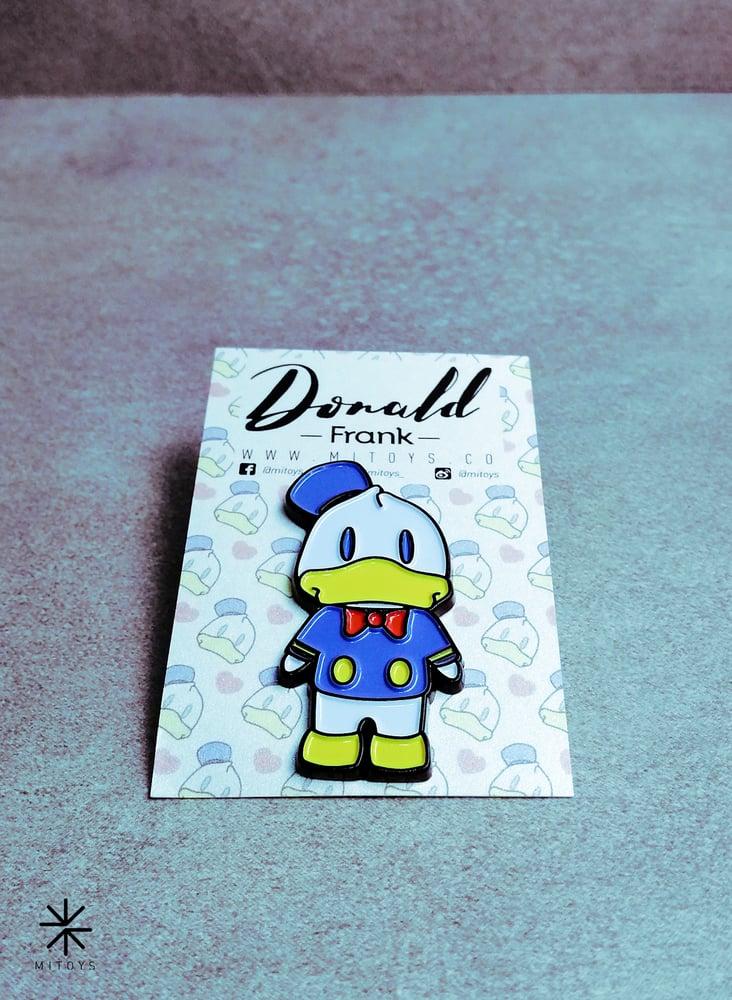 Image of Donald Frank! Pin