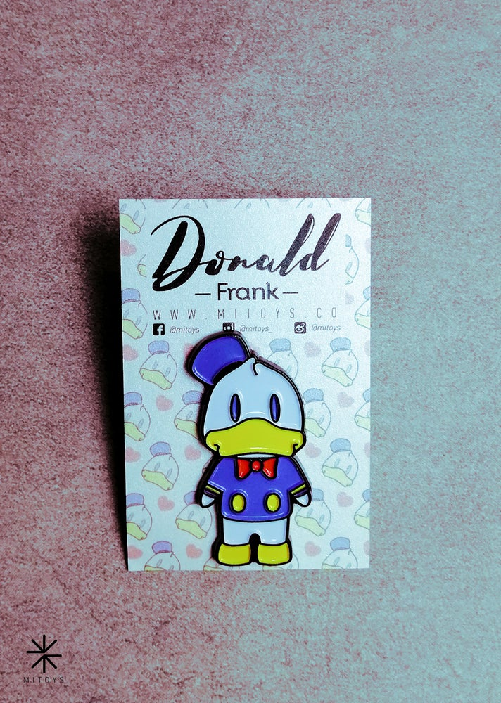 Image of Donald Frank! Pin