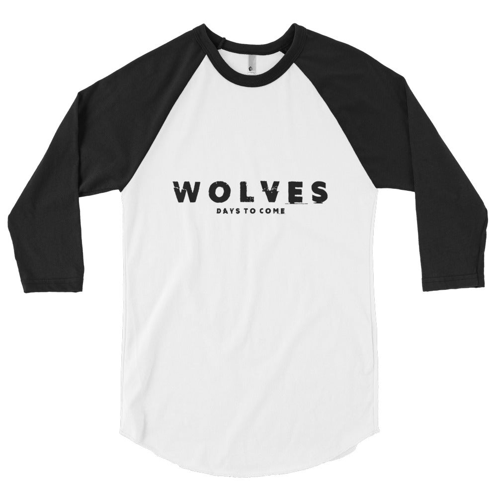 Image of Wolves 3/4 Sleeve