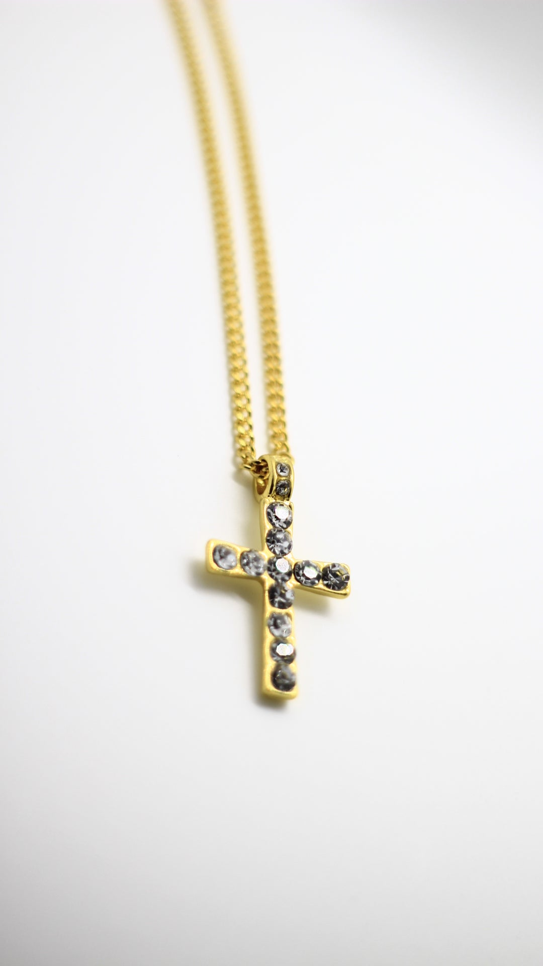 Image of Golden Cross Pendant