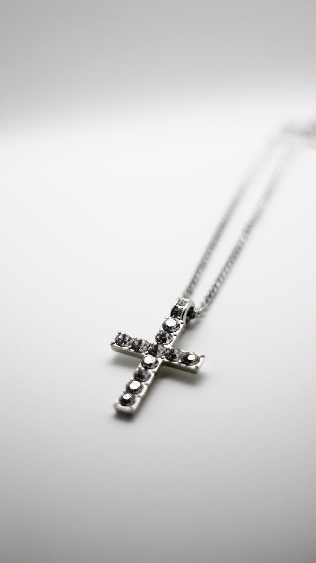 Image of Silver Cross Pendant