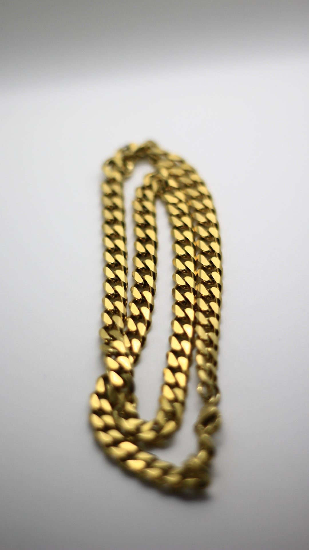 Image of 7mm Golden Link Chain
