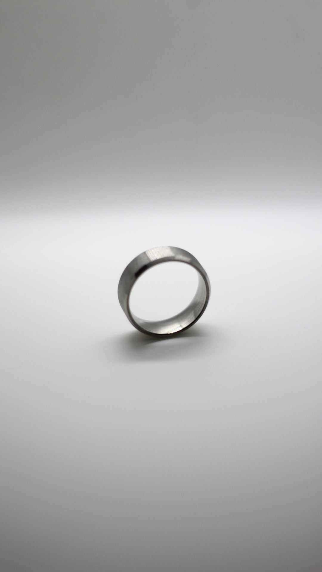 Image of Silver Titanium Ring