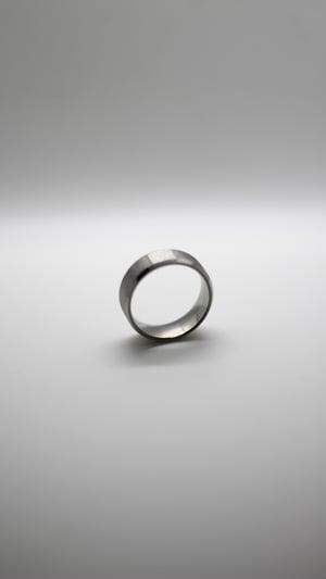 Image of Silver Titanium Ring