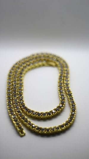 Image of 4mm Golden Diamond Necklace