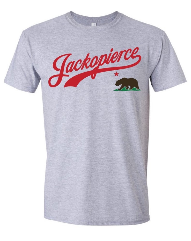 "Image of JP ""Cali"" Shirt - Men's/Unisex Cut - Heather Grey"