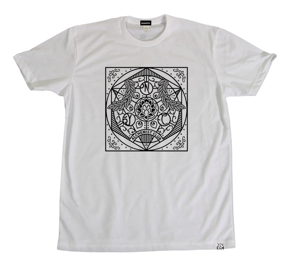 Image of KingNYC Alchemist Club Mandala T-Shirt