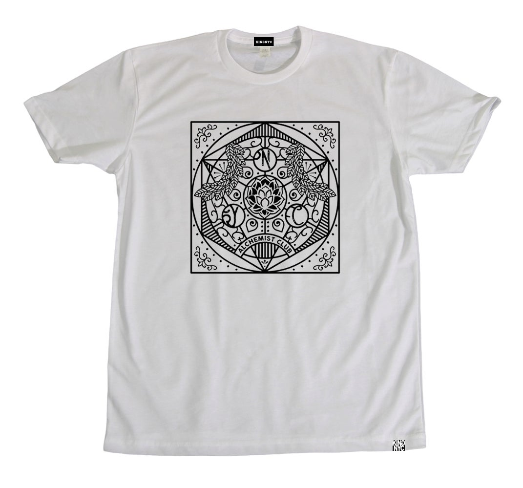 Image of KingNYC Alchemist Club Mandala T-Shirt