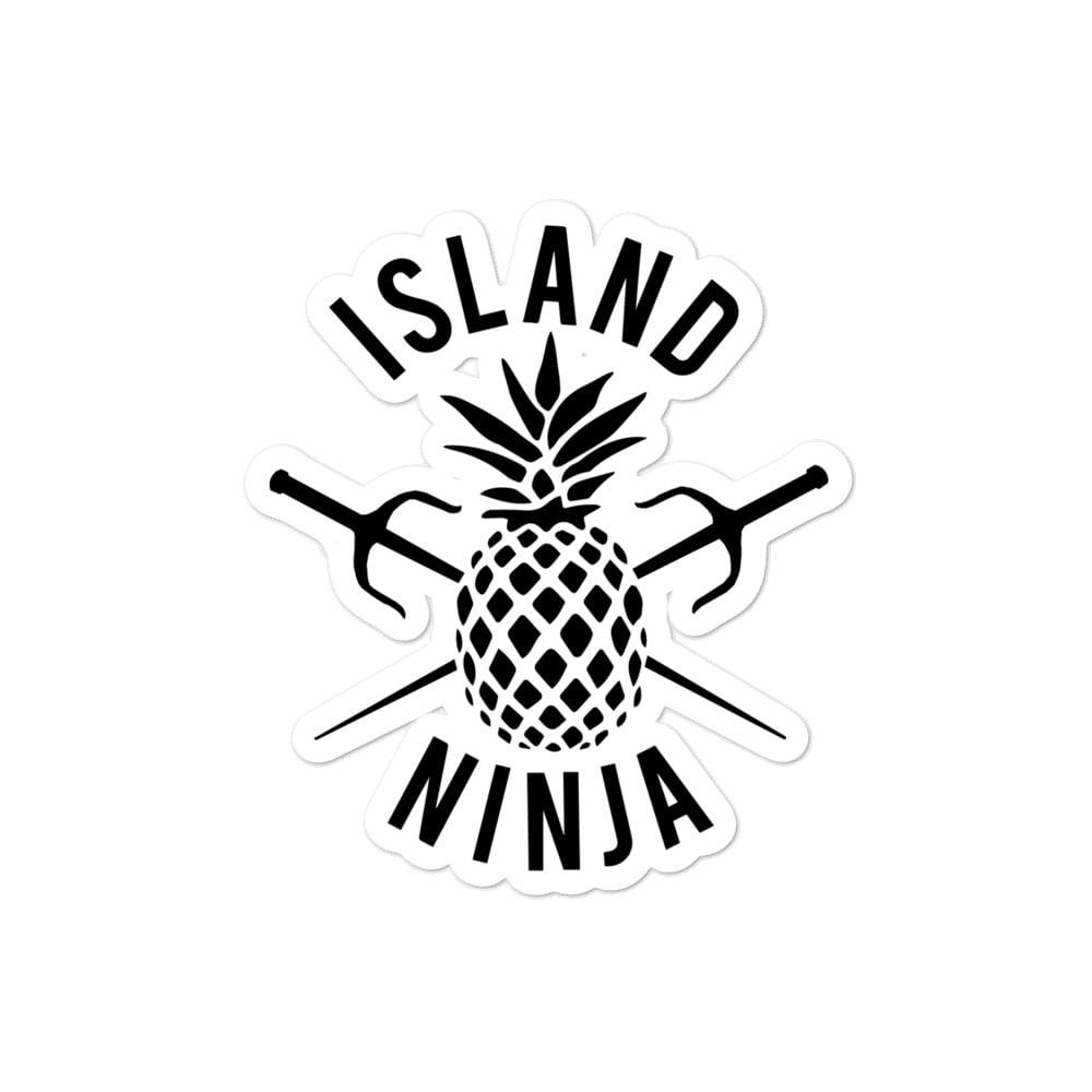 Island Ninja Stickers