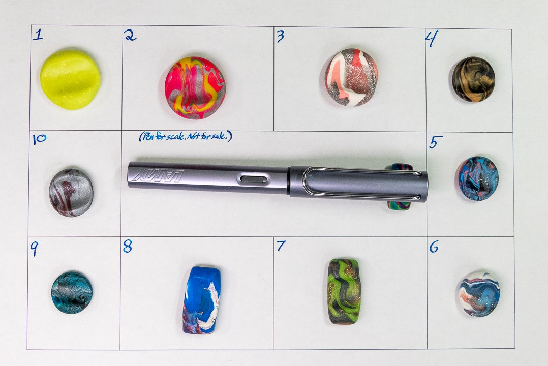 Image of Pen Rests Group 7